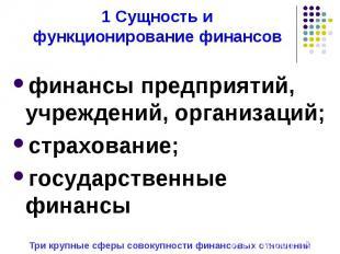 финансы предприятий, учреждений, организаций; финансы предприятий, учреждений, о