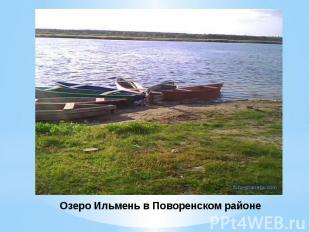 Озеро Ильмень в Поворенском районе