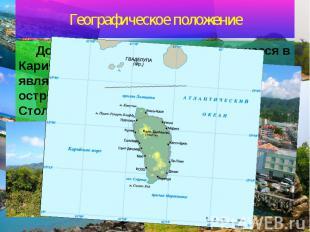 Географическое положение Доминика – государство, находящееся в Карибском море. О
