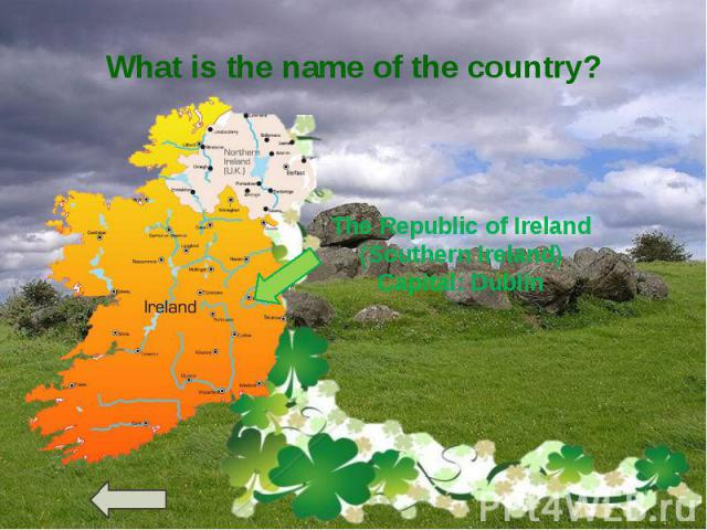 What is the name of the country?
