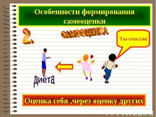 Особенности формирования самооценки