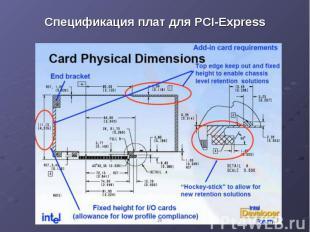 Спецификация плат для PCI-Express