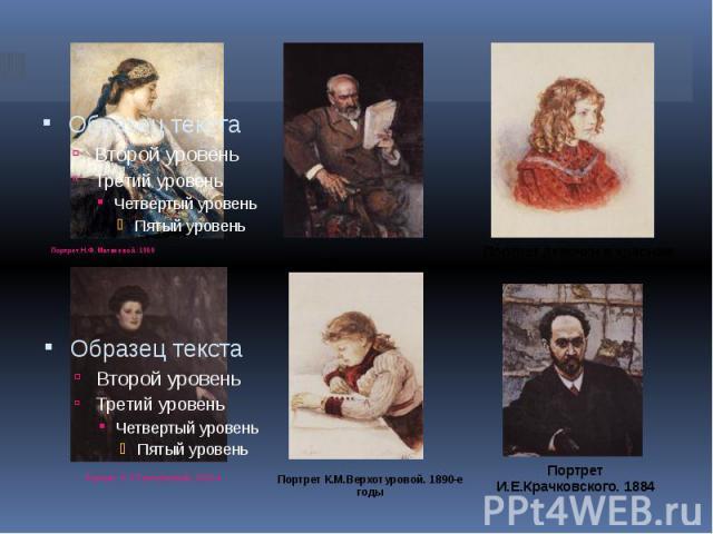 Портрет Н.Ф.Матвеевой. 1909 Портрет Н.Ф.Матвеевой. 1909