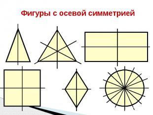 Фигуры с осевой симметрией