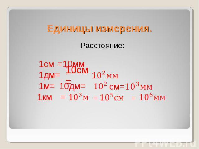 Расстояние: Расстояние: