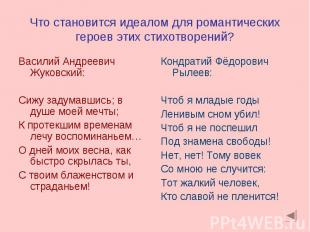 Василий Андреевич Жуковский: Василий Андреевич Жуковский: Сижу задумавшись; в ду