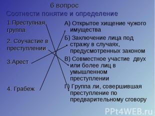 А) Открытое хищение чужого имущества А) Открытое хищение чужого имущества Б) Зак