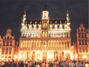 Брюссель Столица Бельгии и столица Объеди-ненной Европы. В Брюсселе заседает Евр