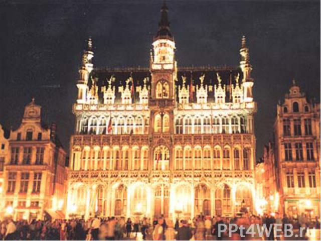 Брюссель Столица Бельгии и столица Объеди-ненной Европы. В Брюсселе заседает Европарламент. Находится штаб-квартира НАТО.