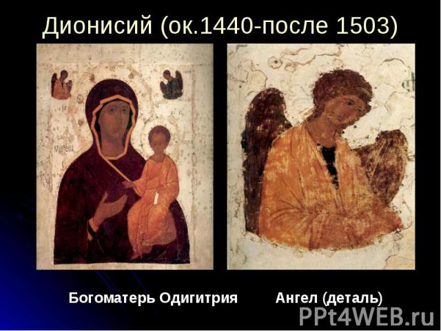 Богоматерь Одигитрия Ангел (деталь) Богоматерь Одигитрия Ангел (деталь)