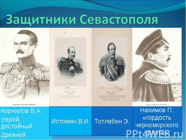 Корнилов В.А. Корнилов В.А. (герой, достойный Древней Греции).