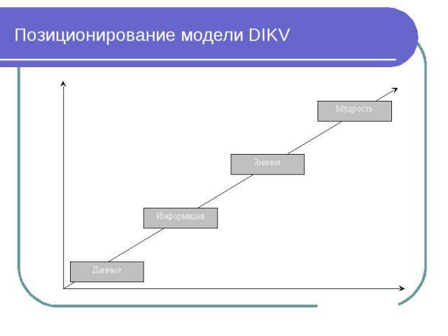 Позиционирование модели DIKV
