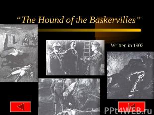 """The Hound of the Baskervilles"""