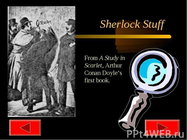 Sherlock Stuff