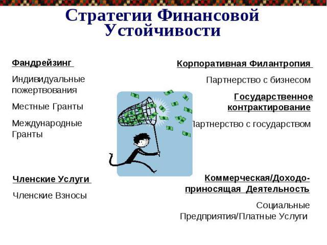 Стратегии Финансовой Устойчивости