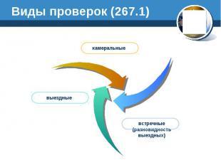 Виды проверок (267.1)