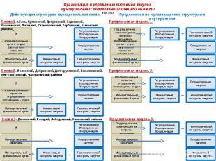 Организация и управление системой закупок муниципальных образований Липецкой обл