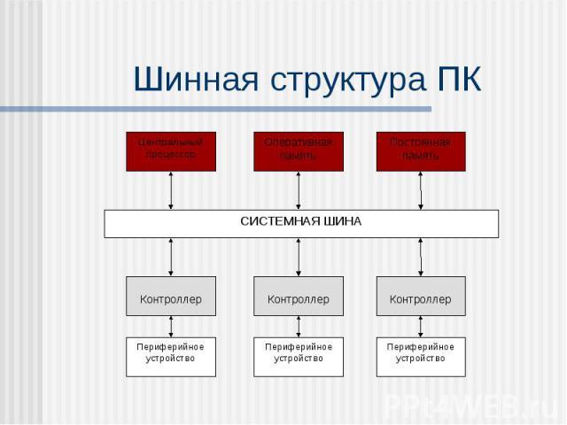 Шинная структура ПК