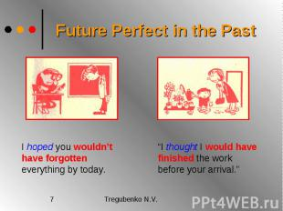 Future Perfect in the Past