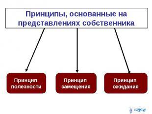Принципы, основанные на представлениях собственника