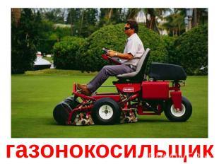 газонокосильщик
