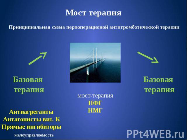 Мост терапия
