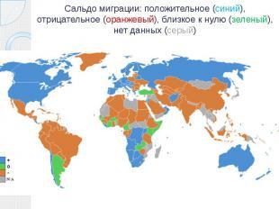 Сальдо миграции: положительное (синий), отрицательное (оранжевый), близкое к нул