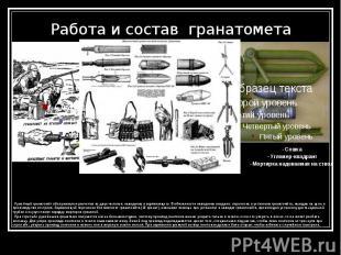 Работа и состав гранатомета - Сошка - Угломер-квадрант - Мортирка надеваем