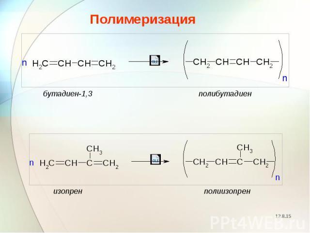 Полимеризация Полимеризация