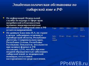 По информаций Федеральной службы по надзору в сфере прав потребителей и благопол