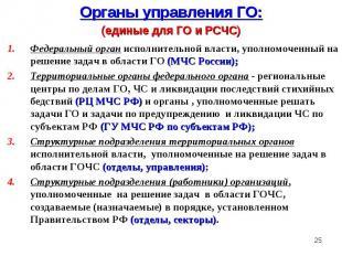 Федеральный орган исполнительной власти, уполномоченный на решение задач в облас