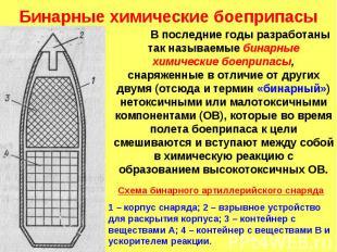Бинарные химические боеприпасы