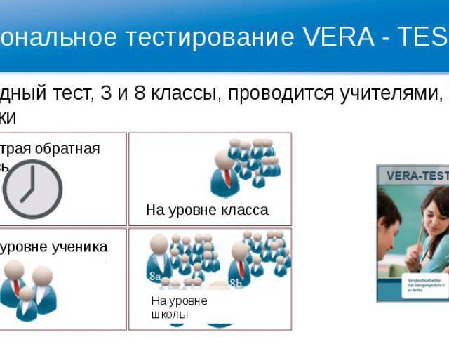 Региональное тестирование VERA - TEST