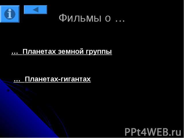 Фильмы о …