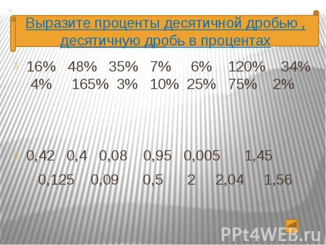 16% 48% 35% 7% 6% 120% 34% 4% 165% 3% 10% 25% 75% 2% 16% 48% 35% 7% 6% 120% 34% 4% 165% 3% 10% 25% 75% 2% 0,42 0,4 0,08 0,95 0,005 1,45 0,125 0,09 0,5 2 2,04 1,56