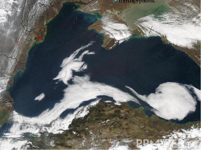 Чёрное море – вид из космоса