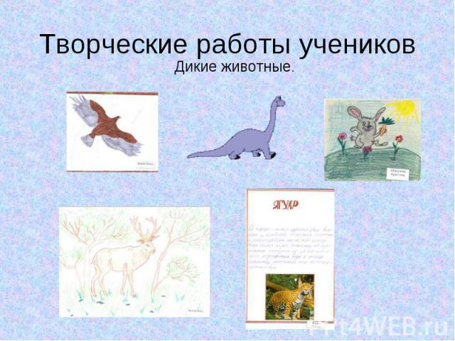 Творческие работы учеников