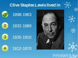 Clive Staples Lewis lived in Clive Staples Lewis lived in