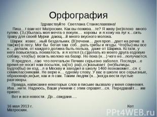 Здравствуйте Светлана Станиславовна! Здравствуйте Светлана Станиславовна! Пиш…т