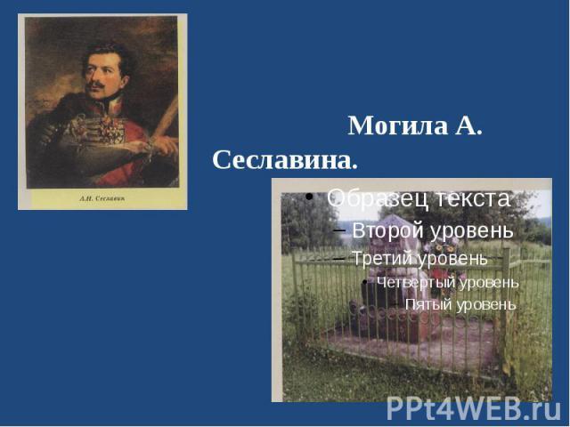 Могила А. Сеславина.