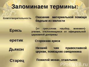(от греч.слова «выбор, мнение»)- учение, отклоняющееся от официальной церковной