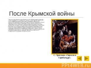 После Крымской войны Там он не только выполнял свои обязанности, часто выезжая в