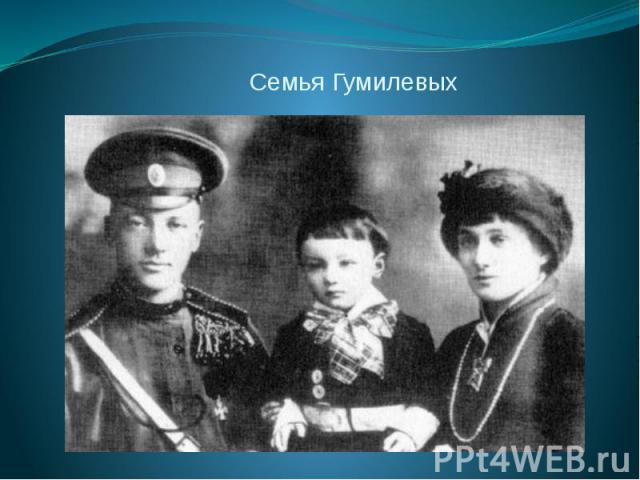 Семья Гумилевых
