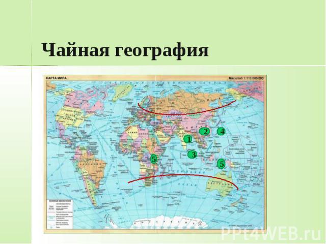 Чайная география