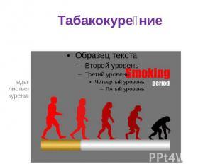 Табакокуре ние вдыханиедыматлеющих высушенных или обработанных листь