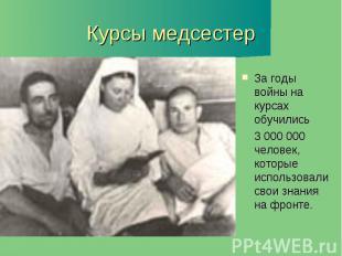 Курсы медсестер
