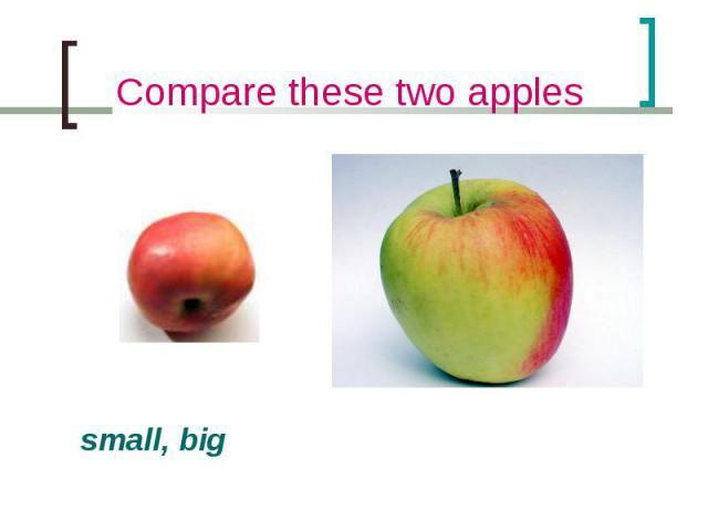 small, big small, big