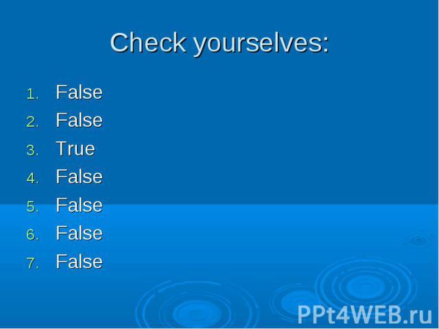 False False False True False False False False