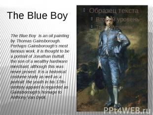 The Blue Boy