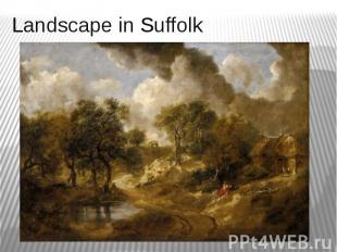 Landscape in Suffolk